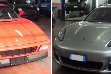 Lavori eseguiti su Ferrari e Porsche