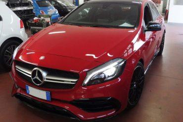 Verniciatura su Mercedes-Benz